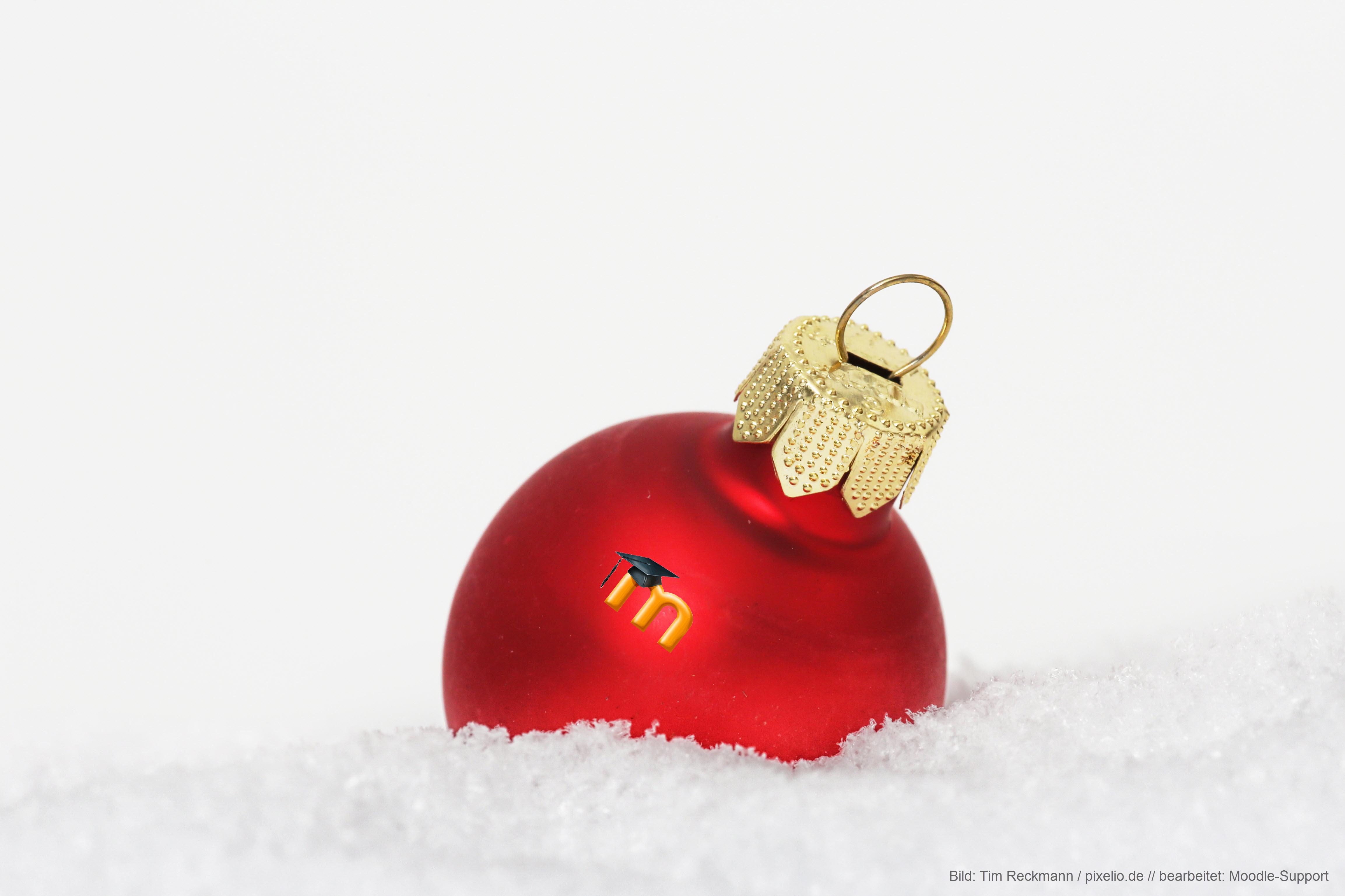 Moodle-Weihnachten
